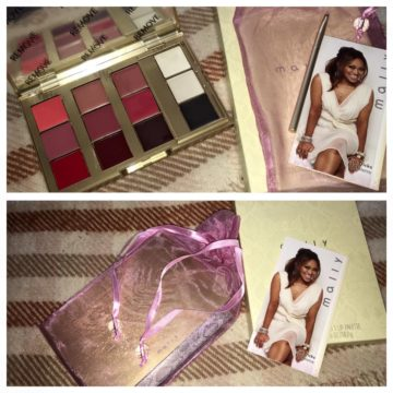QVC Haul – Tarte Eye Palette and Mally Lip Palette