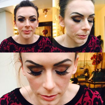 The Christmas Glamorous Make up and smokey eye tips
